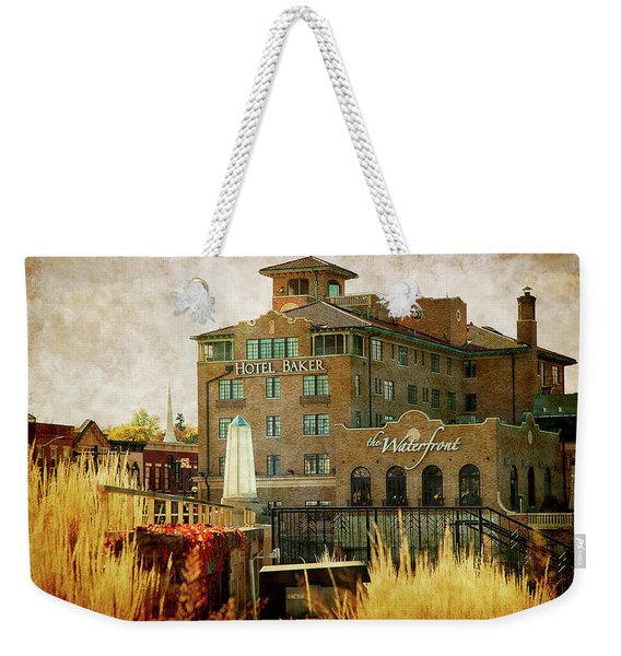 Fall In St Charles Weekender Tote Bag