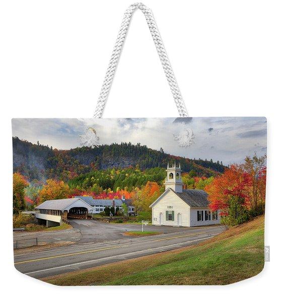 Fall In Stark Weekender Tote Bag