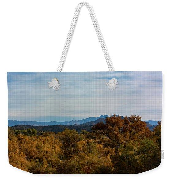 Fall In The Desert Weekender Tote Bag