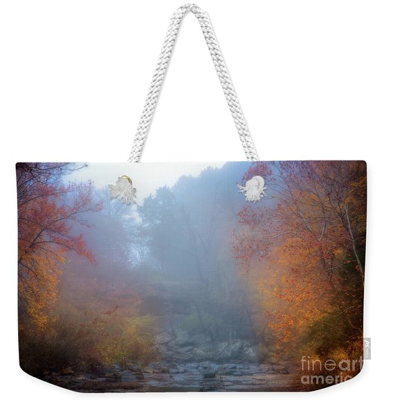 Fall In The Fog Weekender Tote Bag