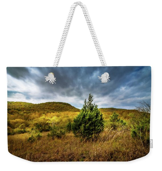 Fall In The Ozarks Weekender Tote Bag
