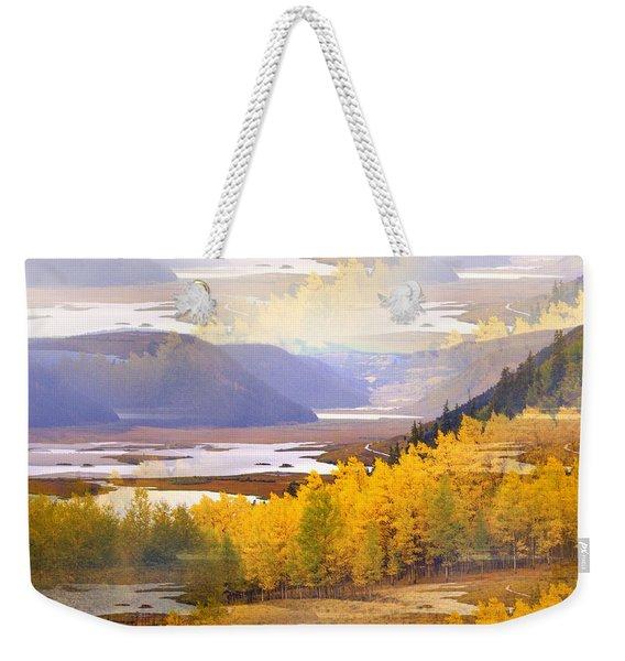 Fall In The Rockies Weekender Tote Bag