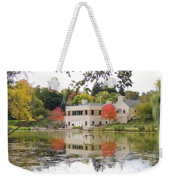 Fall Into Pond Life Weekender Tote Bag