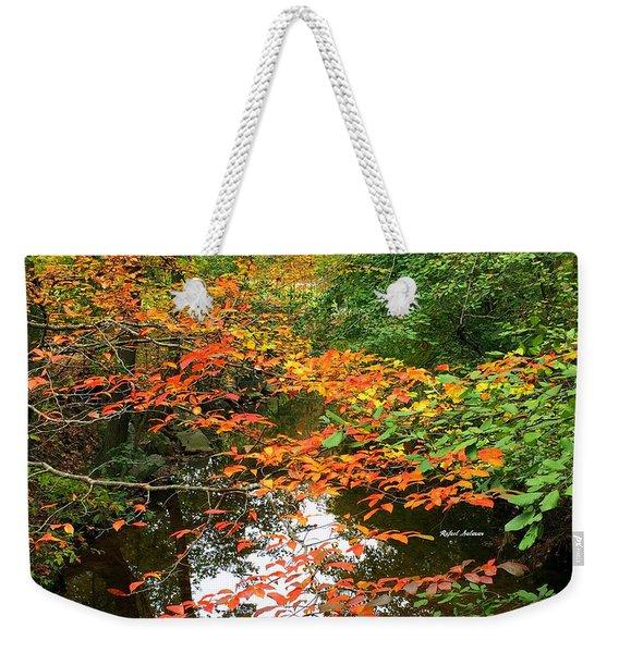 Fall Is In The Air Weekender Tote Bag