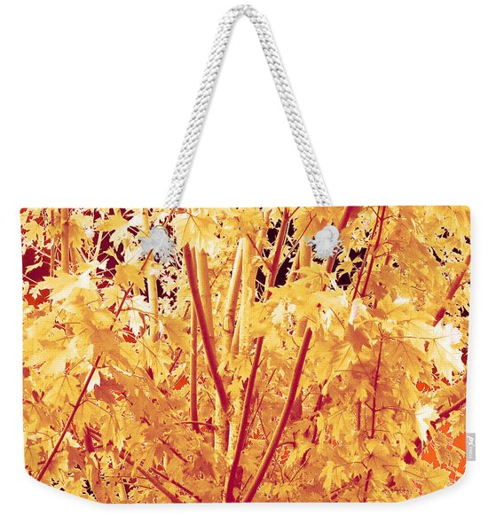 Fall Leaves #1 Weekender Tote Bag