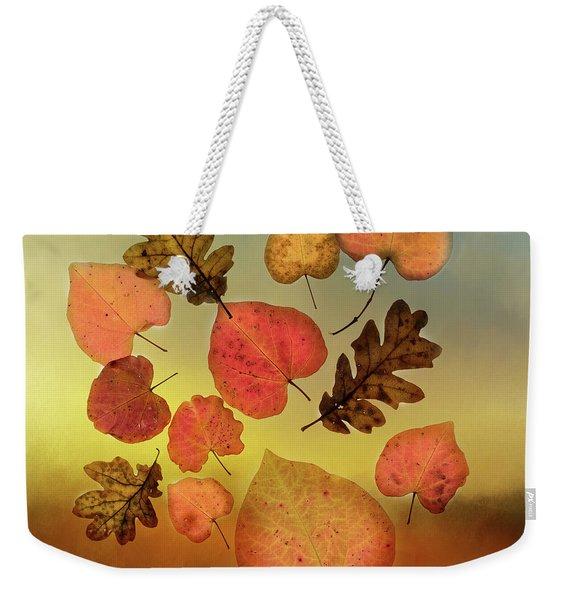 Fall Leaves #1 Weekender Tote Bag