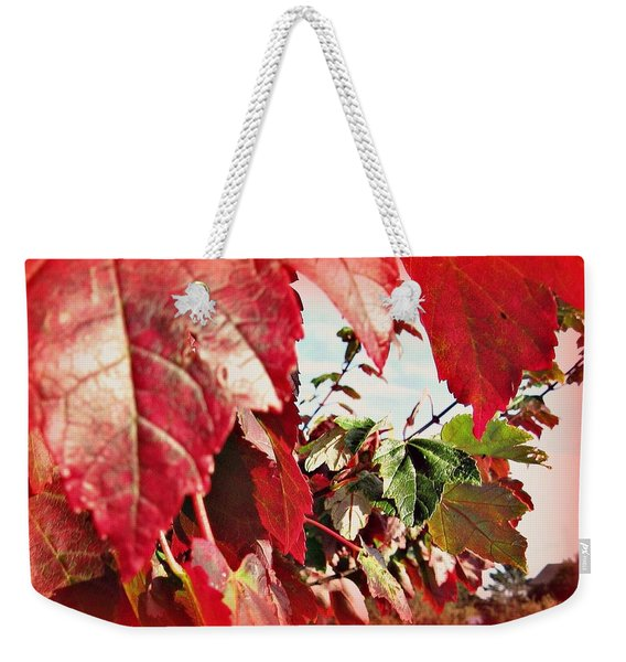 Fall Leaves #10 Weekender Tote Bag