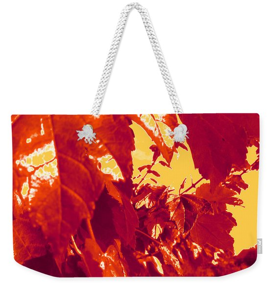 Fall Leaves #13 Weekender Tote Bag