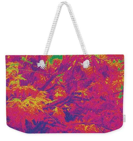 Fall Leaves #14 Weekender Tote Bag