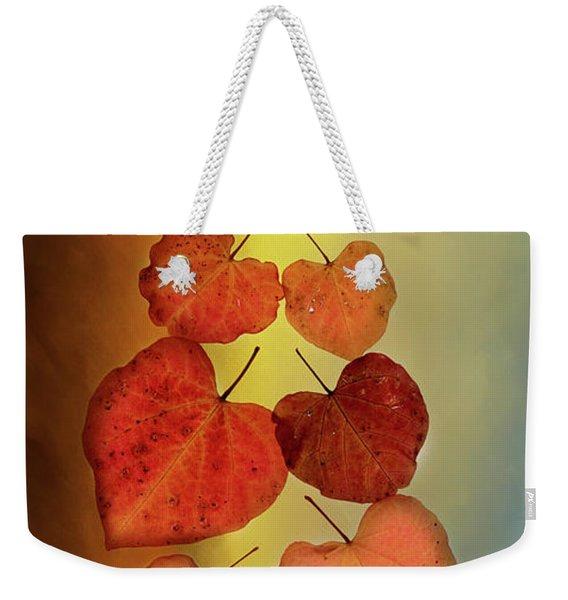 Fall Leaves #2 Weekender Tote Bag