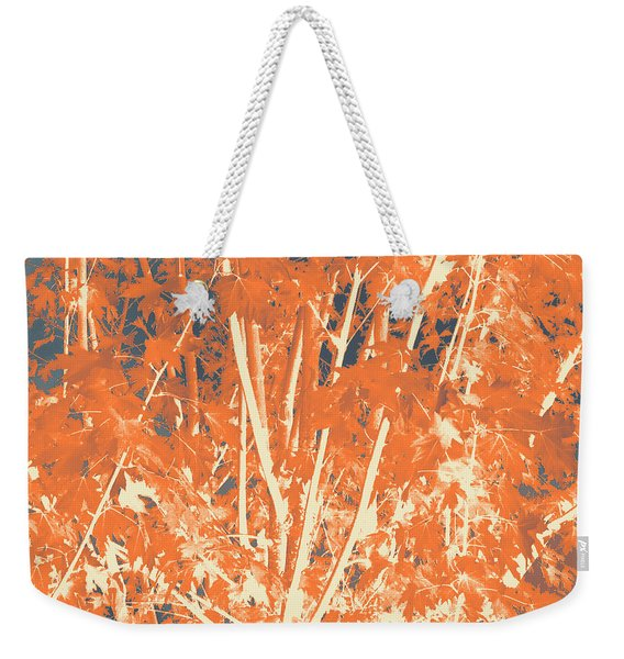 Fall Leaves #3 Weekender Tote Bag