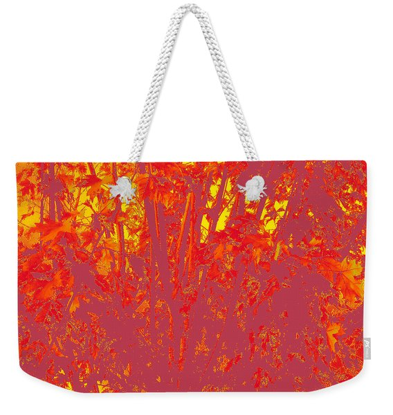 Fall Leaves #4 Weekender Tote Bag