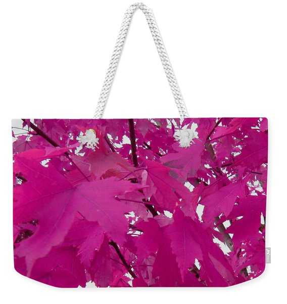 Fall Leaves #5 Weekender Tote Bag