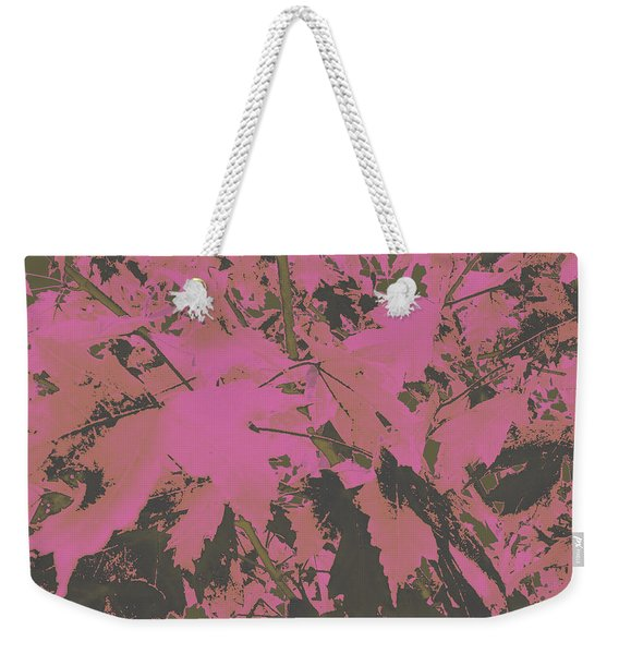 Fall Leaves #6 Weekender Tote Bag