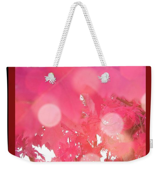 Fall Leaves #8 Weekender Tote Bag