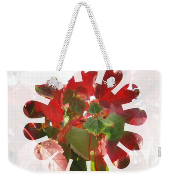 Fall Leaves #9 Weekender Tote Bag