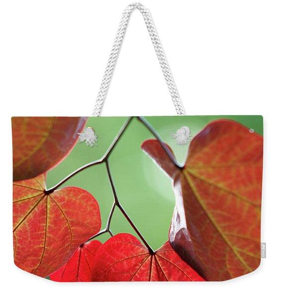 Redbud Weekender Tote Bag