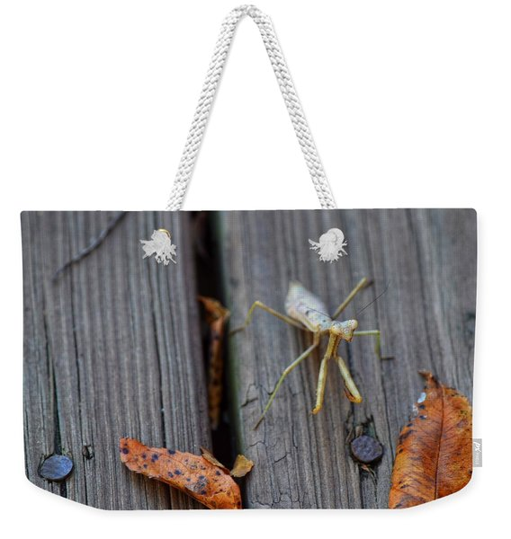Fall Mantis  Weekender Tote Bag