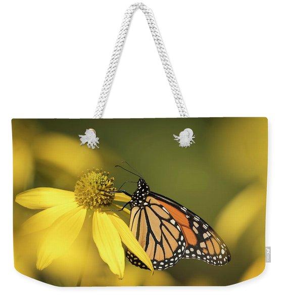 Fall Monarch 2016-5 Weekender Tote Bag