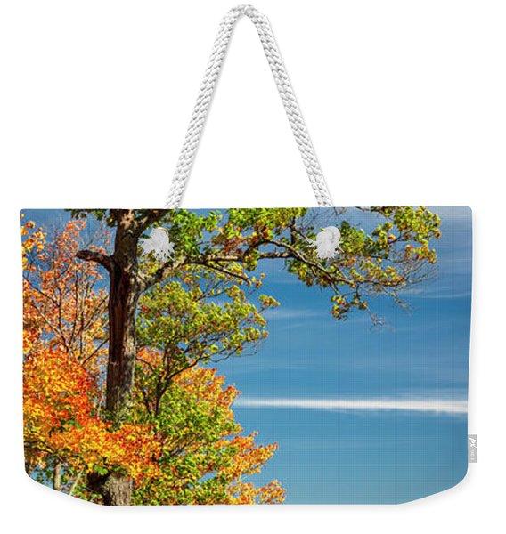 Fall Oak Tree Weekender Tote Bag