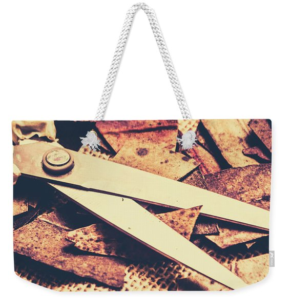 Fall Of Autumn Weekender Tote Bag