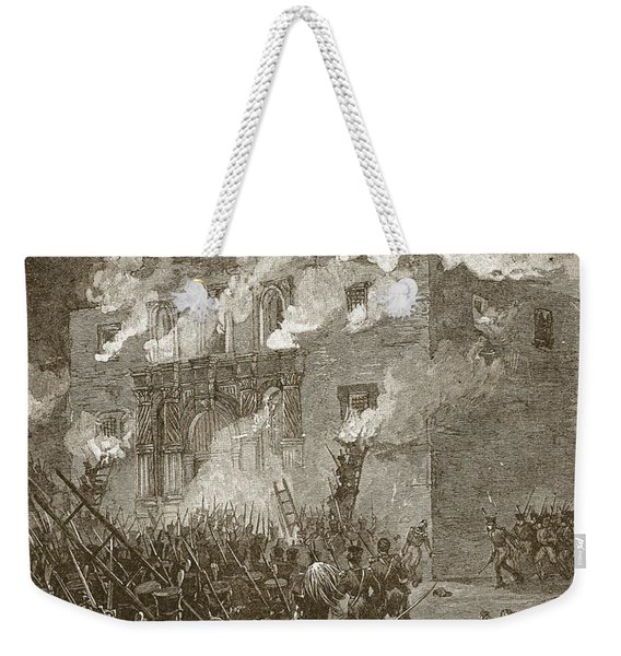 Fall Of The Alamo Weekender Tote Bag