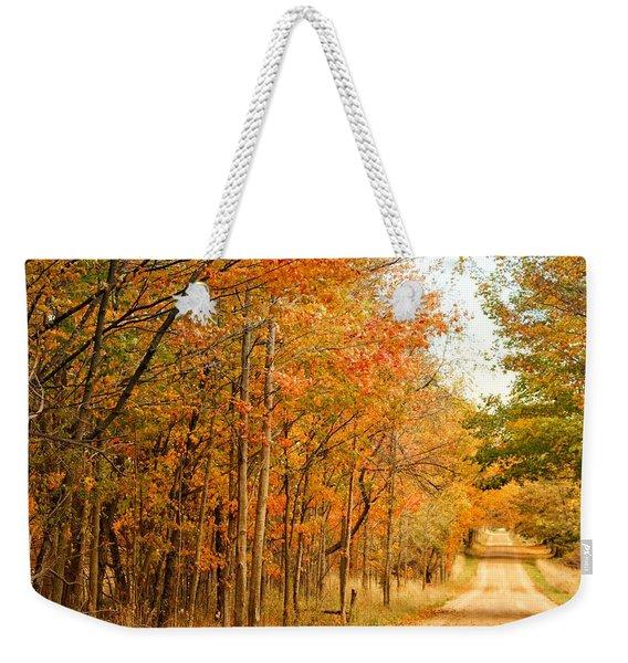9012 - Fall On Murphy Lake II Weekender Tote Bag