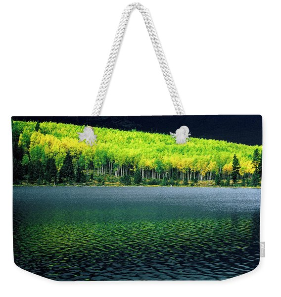 Fall Out Weekender Tote Bag