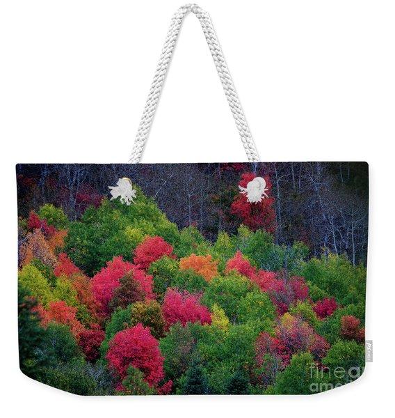 Fall Poppers Weekender Tote Bag