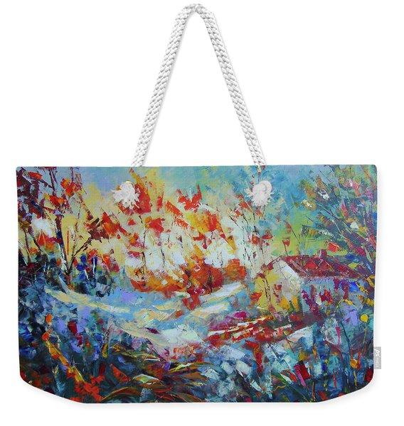 Fall Provence Weekender Tote Bag
