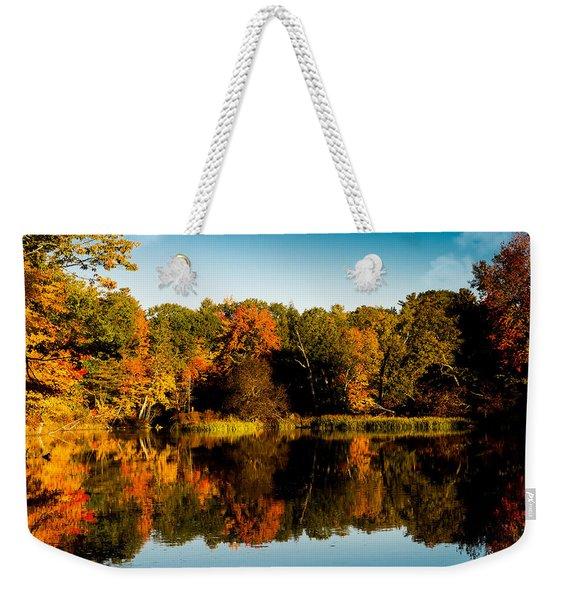 Fall Reflections Weekender Tote Bag