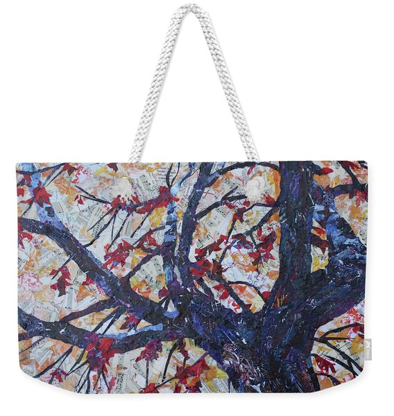 Fall Remmants  Weekender Tote Bag