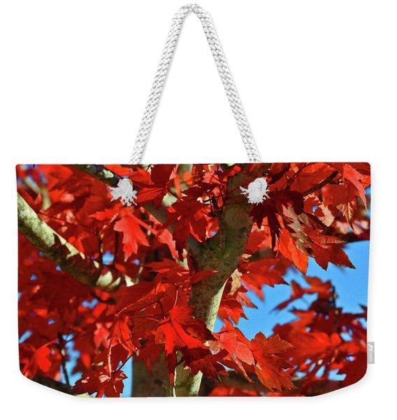 Fall Stars Weekender Tote Bag