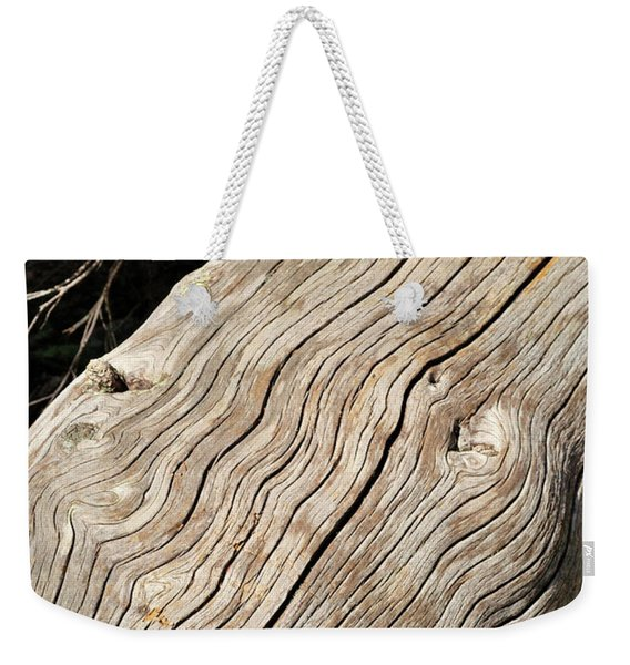 Weekender Tote Bag featuring the photograph Fallen Fir by Ron Cline
