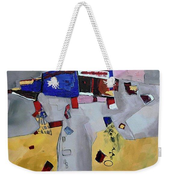 Falling City Weekender Tote Bag