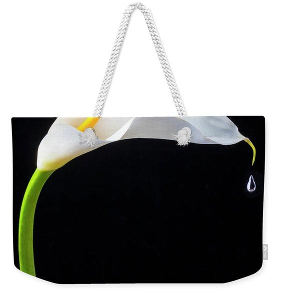 Falling Drop Weekender Tote Bag