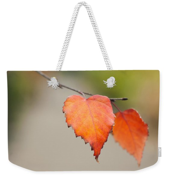 Falling For Fall Weekender Tote Bag