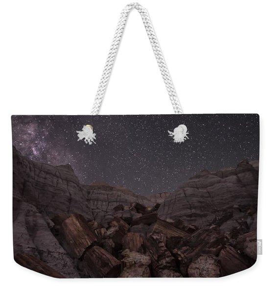 Falling Weekender Tote Bag