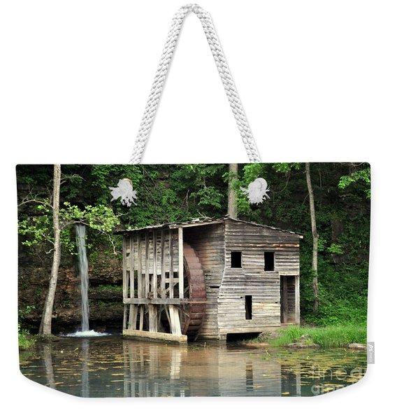 Falling Spring Mill 3 Weekender Tote Bag