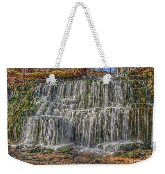 Falling Water Weekender Tote Bag