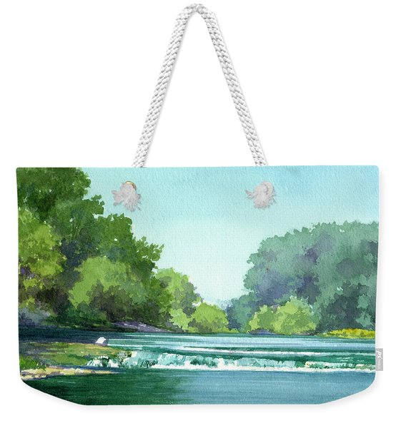 Falls At Estabrook Park Weekender Tote Bag
