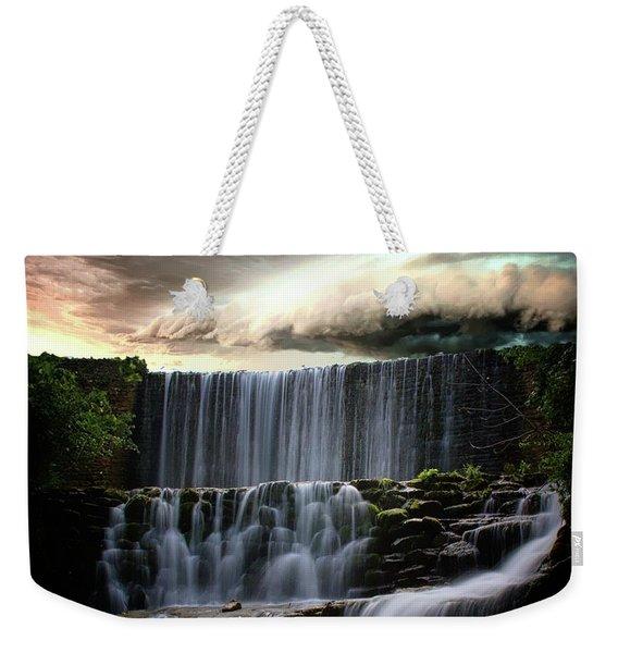 Falls At Mirror Lake Weekender Tote Bag