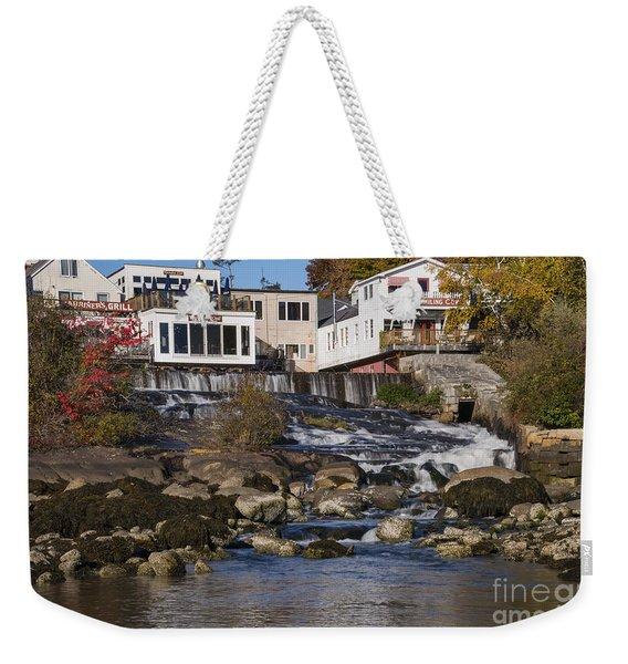 Falls Behind Main Street Weekender Tote Bag