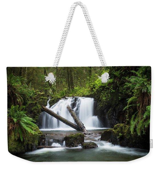 Falls On Canyon Creek Weekender Tote Bag