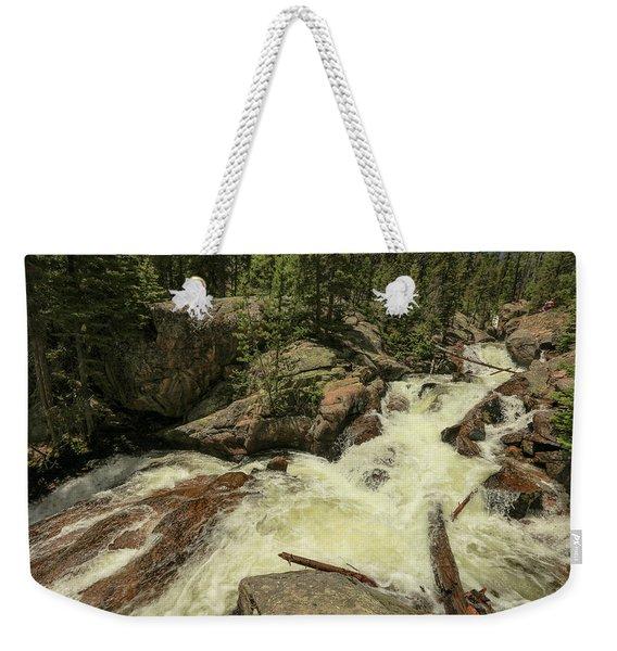 Falls Pool Weekender Tote Bag