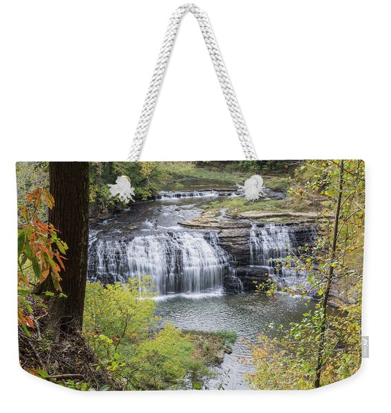 Falls Through The Trees Weekender Tote Bag