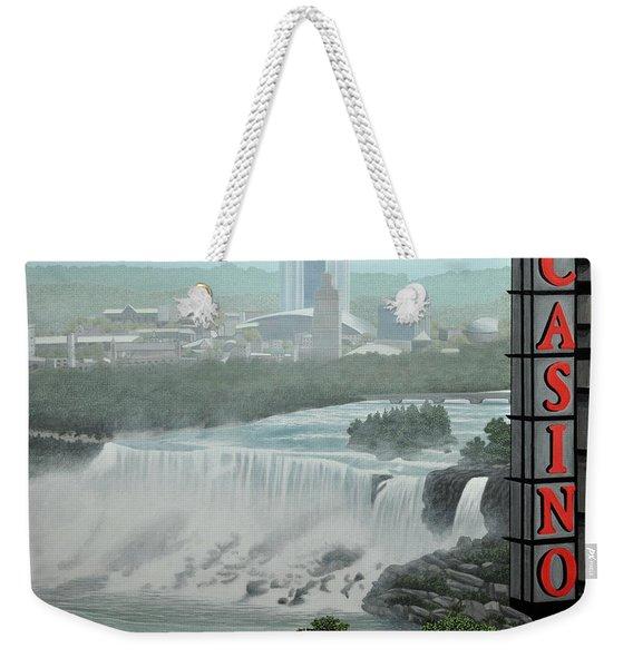 Falls View Weekender Tote Bag