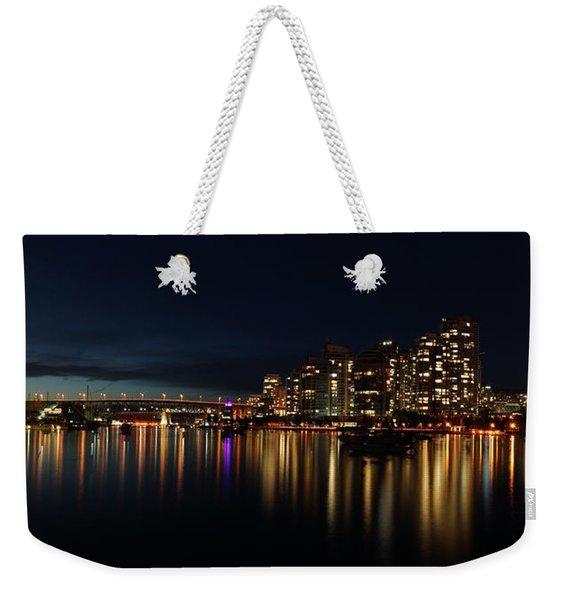 False Creek Reflections Weekender Tote Bag