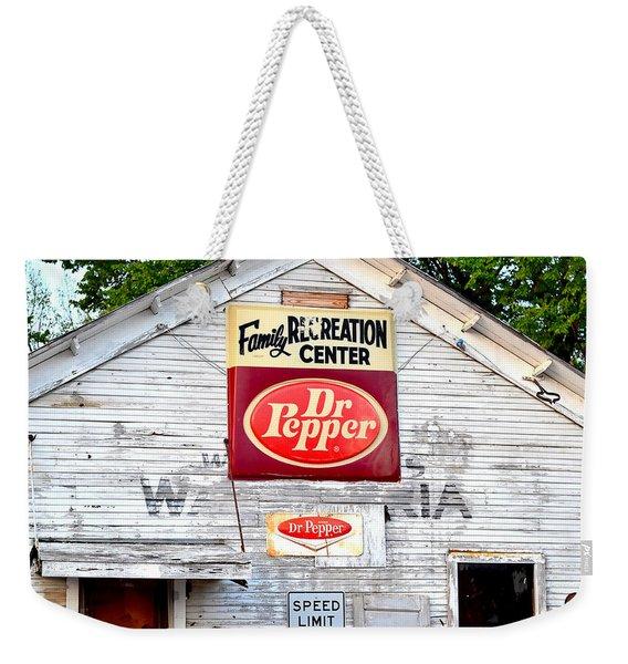 Family Recreation Weekender Tote Bag