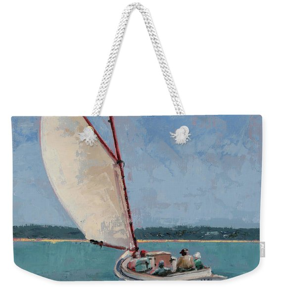 Family Sail Weekender Tote Bag